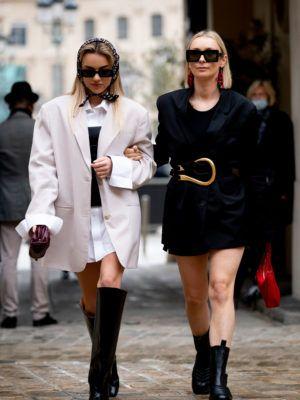 Pariz i moda_street style kombinacije