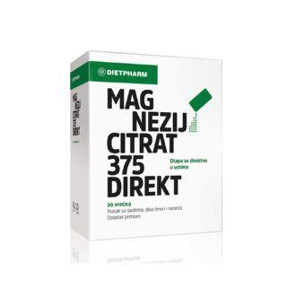 Dietpharm Mg citrat 375 direkt (Farmacia) – 74 kn